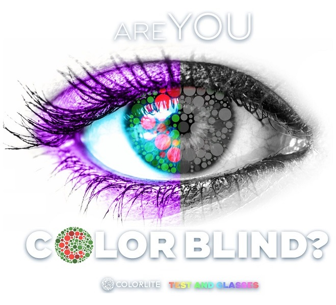 Colorlite Color Blind Glasses Color Vision Test